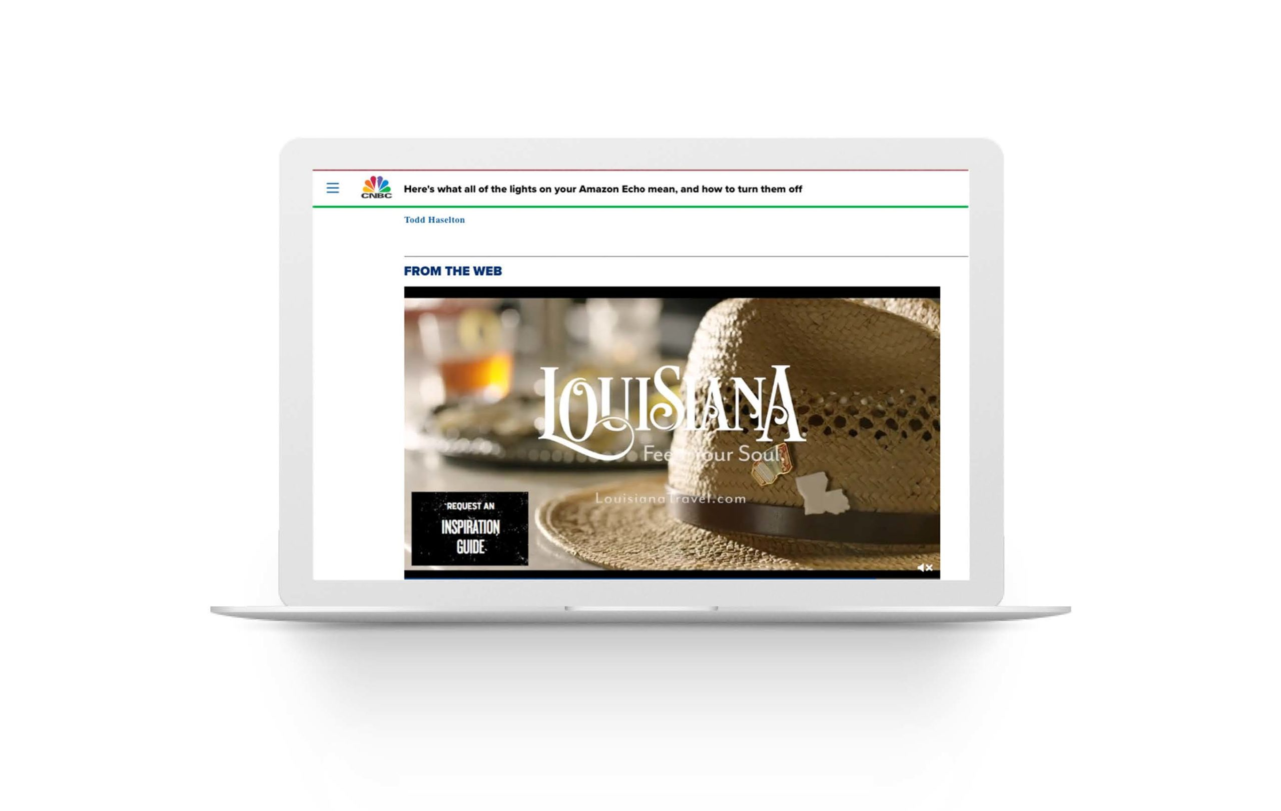 Morgan & Co. used a variety of media channels for their Tourism client's video campaign, including channels like OTT, display, pre-roll and local television channels, alongside Taboola.