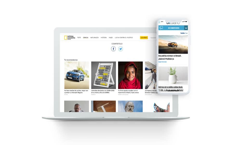 Éxito de Renault con las campañas Always-On de Taboola