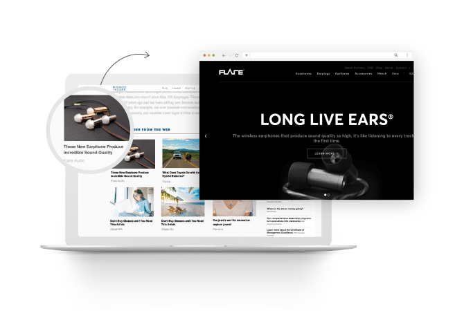 Flare Audio Reaches People on the World's Best Publisher Sites