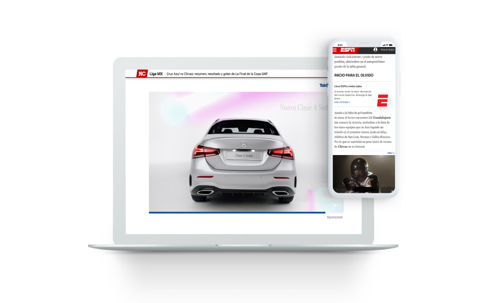 MERCEDES UTILIZES TABOOLA PIXEL AND RETARGETING TO REACH POTENTIAL CUSTOMERS