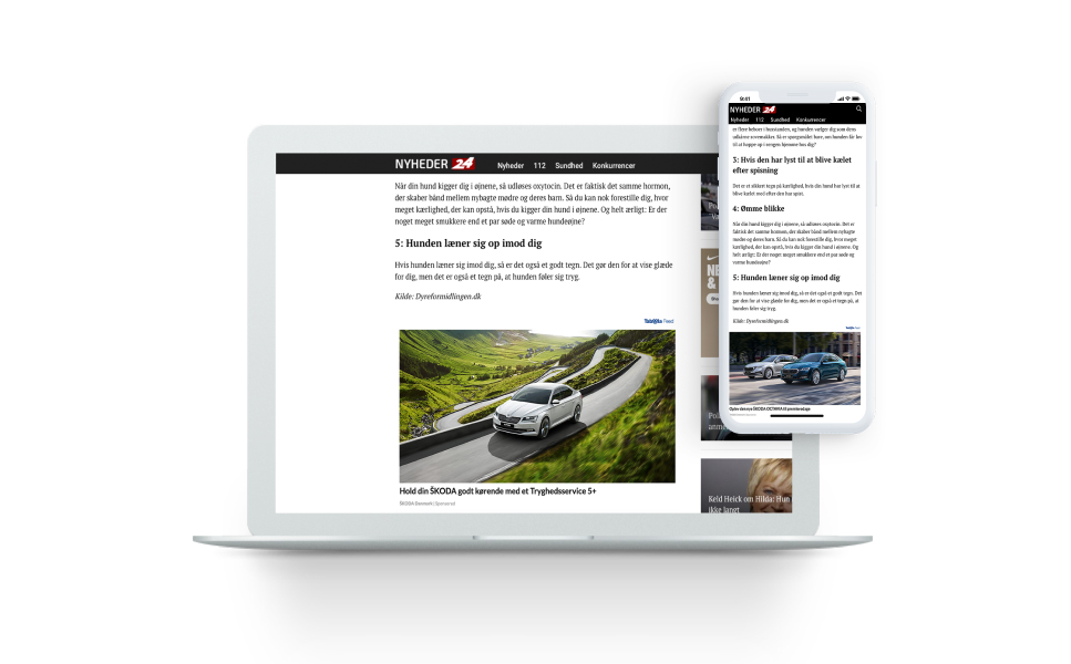 PHD Denmark Utilizes Device Targeting to More Effectively Reach Audiences on Desktop and Mobile for ŠKODA Danmark