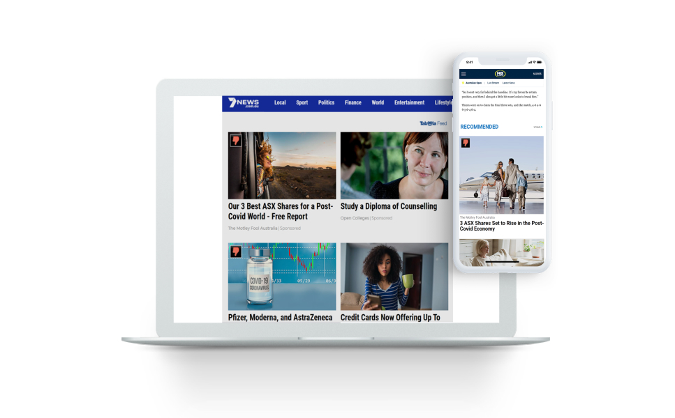 THE TABOOLA PIXEL HELPS GIVE THE MOTLEY FOOL AUSTRALIA AN ACCURATE VIEW OF THEIR SUCCESS
