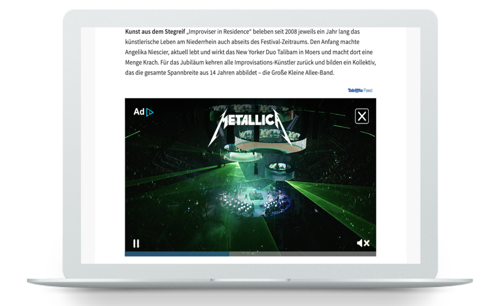 Universal Music Germany Reaches Audiences at Scale on Premium Publisher Sites in Germany