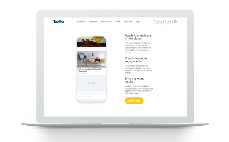 Taboola Provides 50% Lower CPA for Client Campaigns than Other Channels in Valueleaf's Media Mix