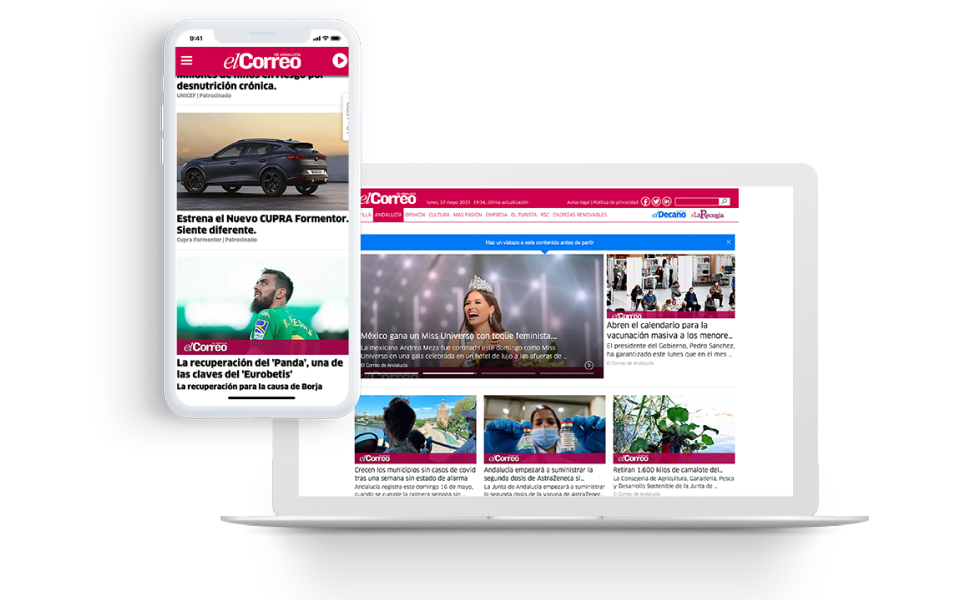 El Correo de Andalucía Partners with Taboola for a Fruitful Transition from Print to Digital