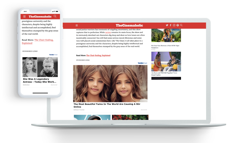The Cinemaholic Captures Revenue and Engagement Growth When Organic Traffic Increases with Taboola Feed