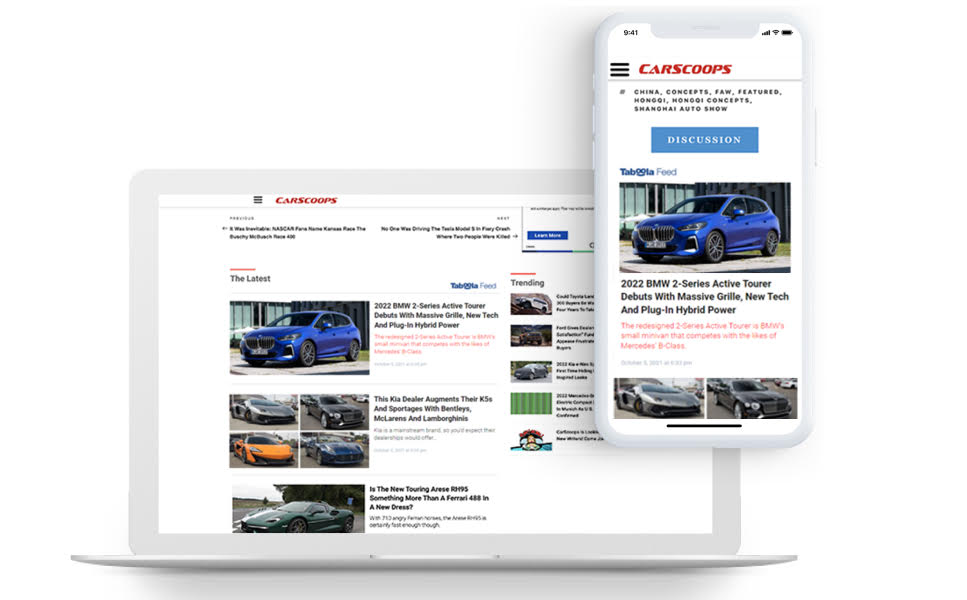 CarScoops Scales Revenue From Organic Traffic with Taboola Feed and Video Slider
